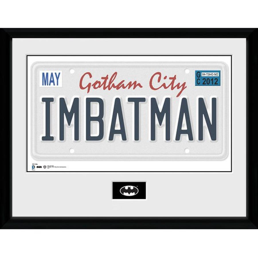 DC Comics Batman License Plate
