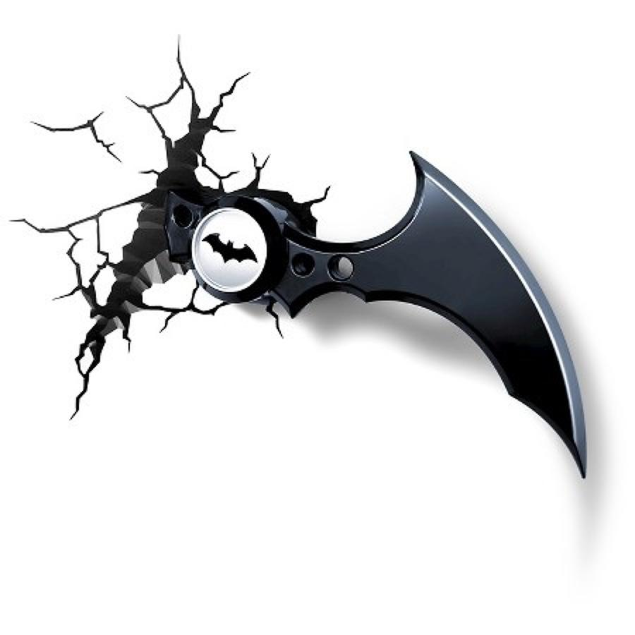 Batman Batarang 3D LED Wall Light