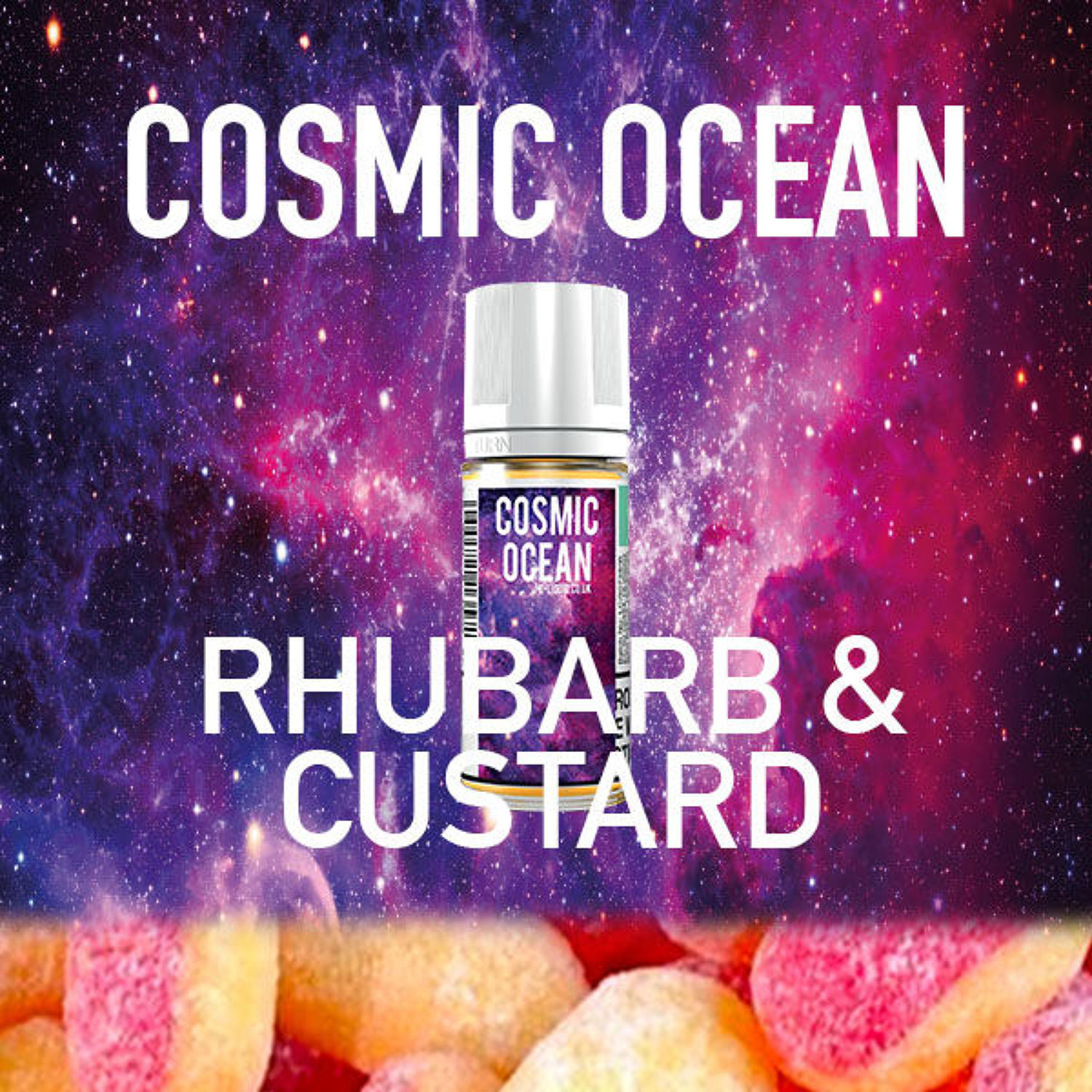 Cosmic Ocean - Rhubarb and Custard 10ml