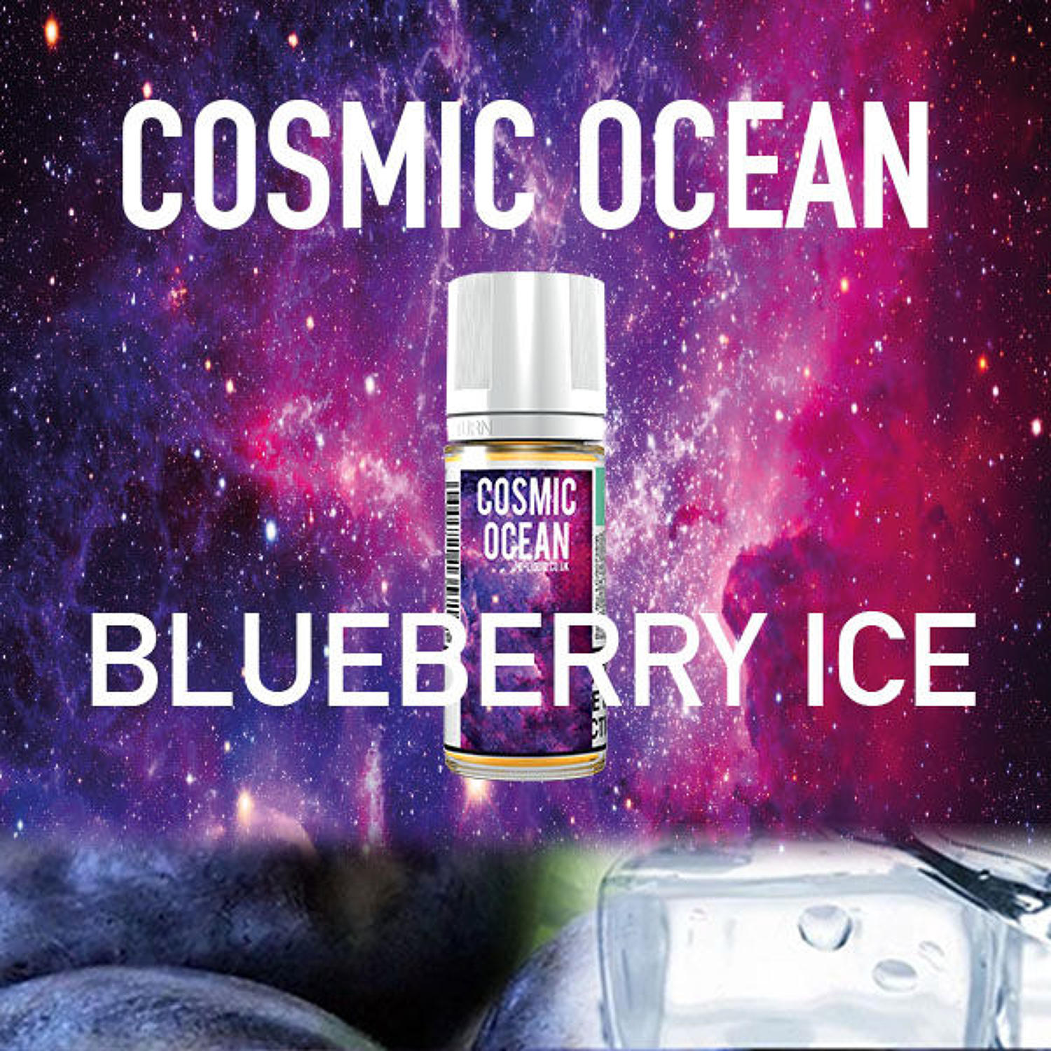 Cosmic Ocean - Blueberry Ice 10ml
