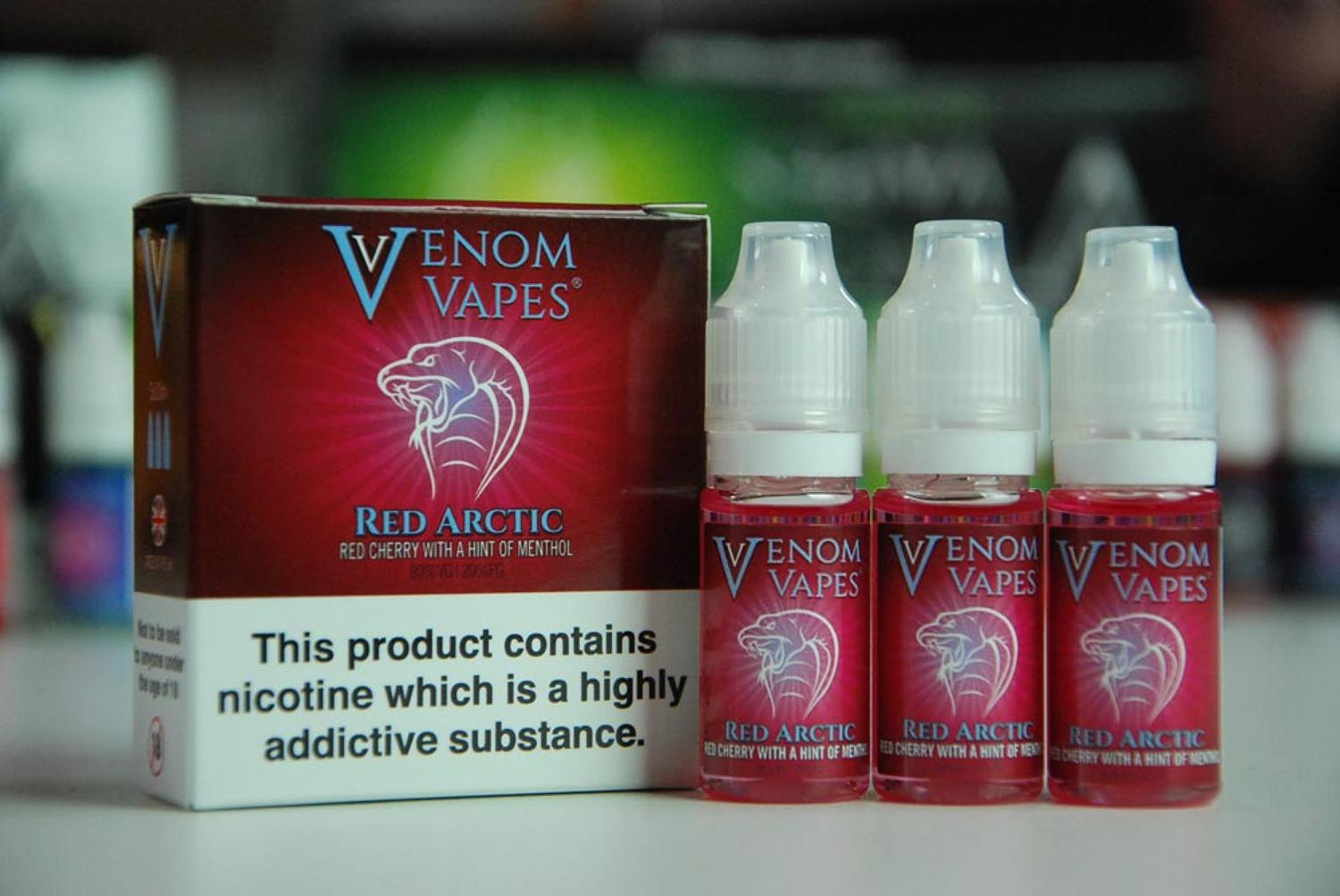Venom Vape - Red Arctic 3x10ml
