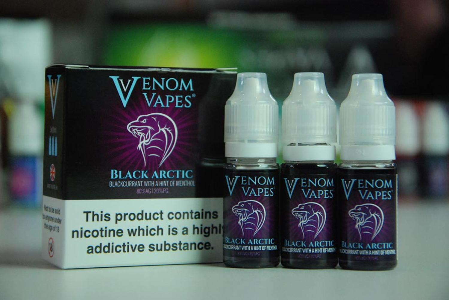 Venom Vape - Black Arctic 3x10ml