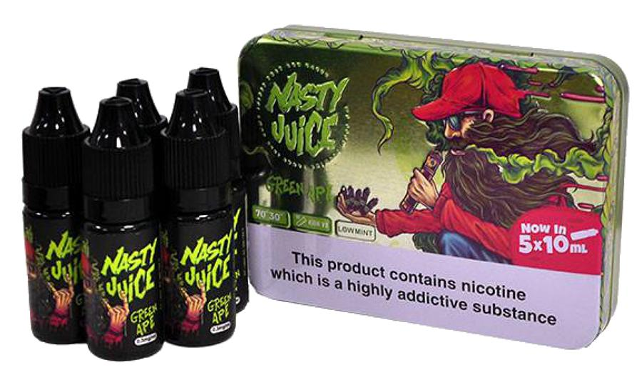 Nasty Juice - Green Apple 5x10ml