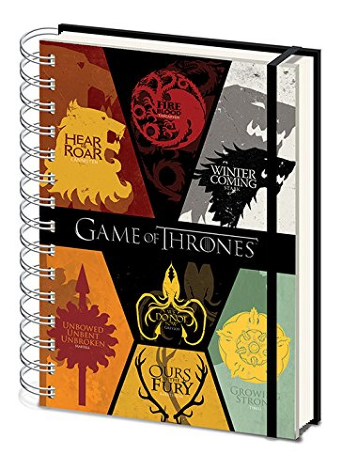 Game of Thrones - House Sigils Notebook
