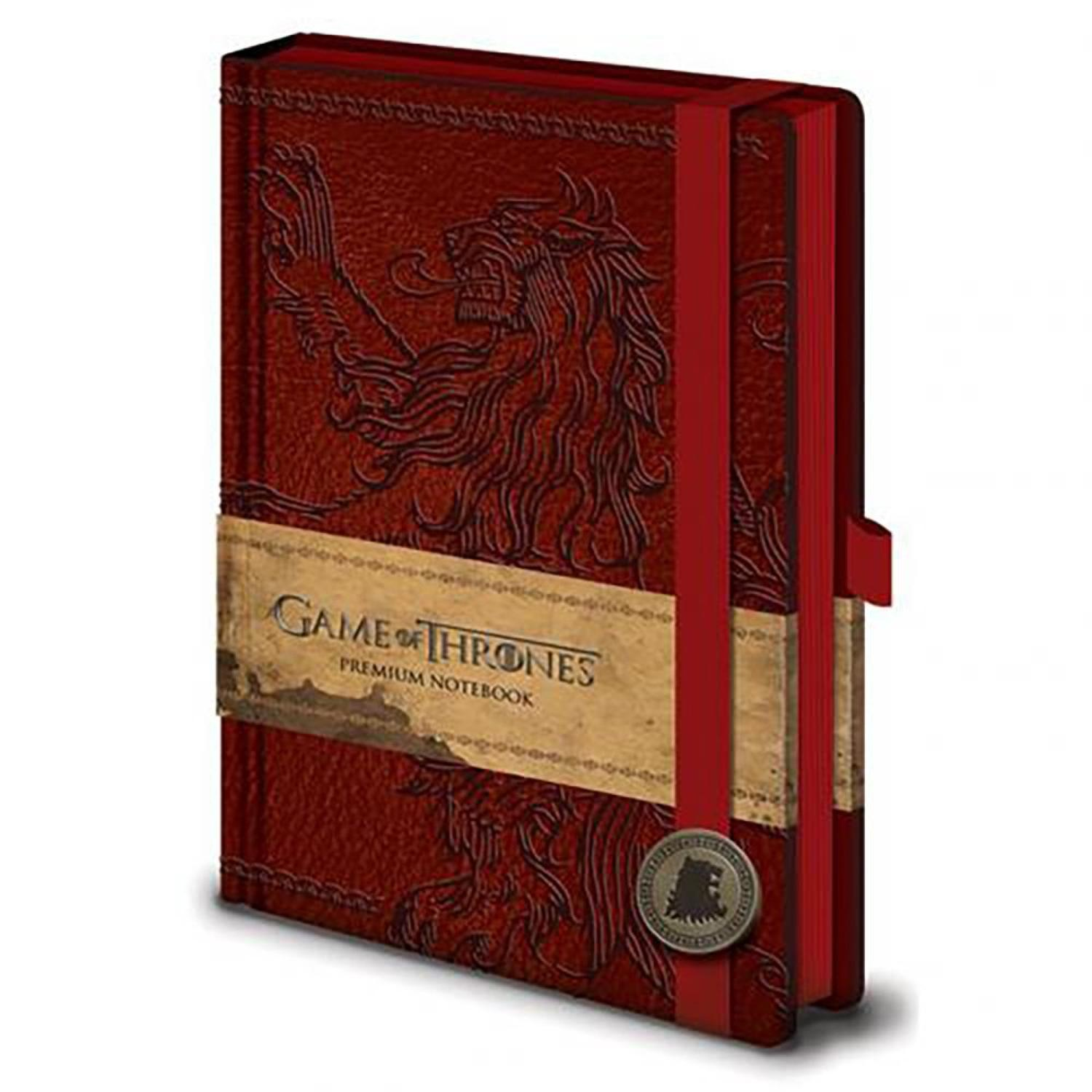 Game of Thrones - House Lannister Premium Notebook