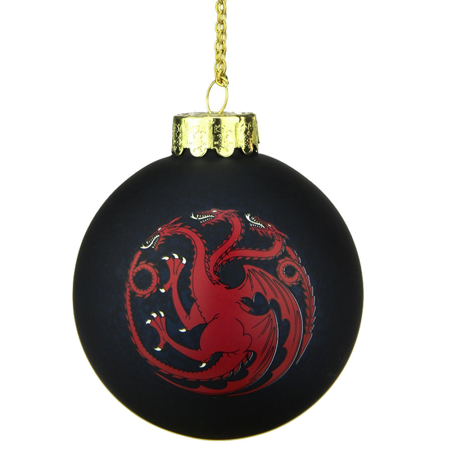 Game of Thrones - House Targaryen Bauble