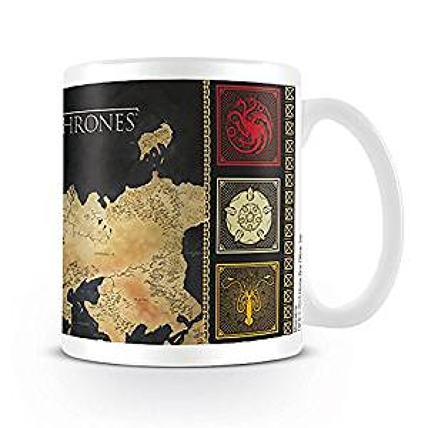 Game of Thrones - Westeros / Essos Mug