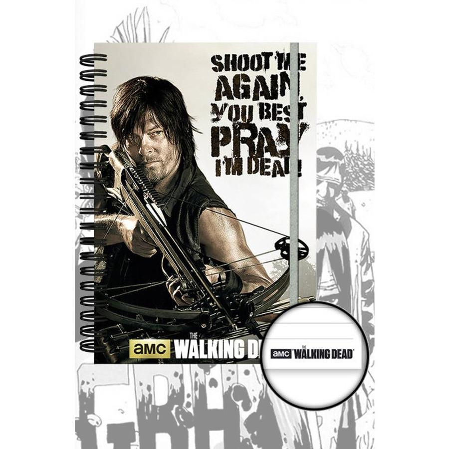 The Walking Dead - Official Daryl Dixon Notebook