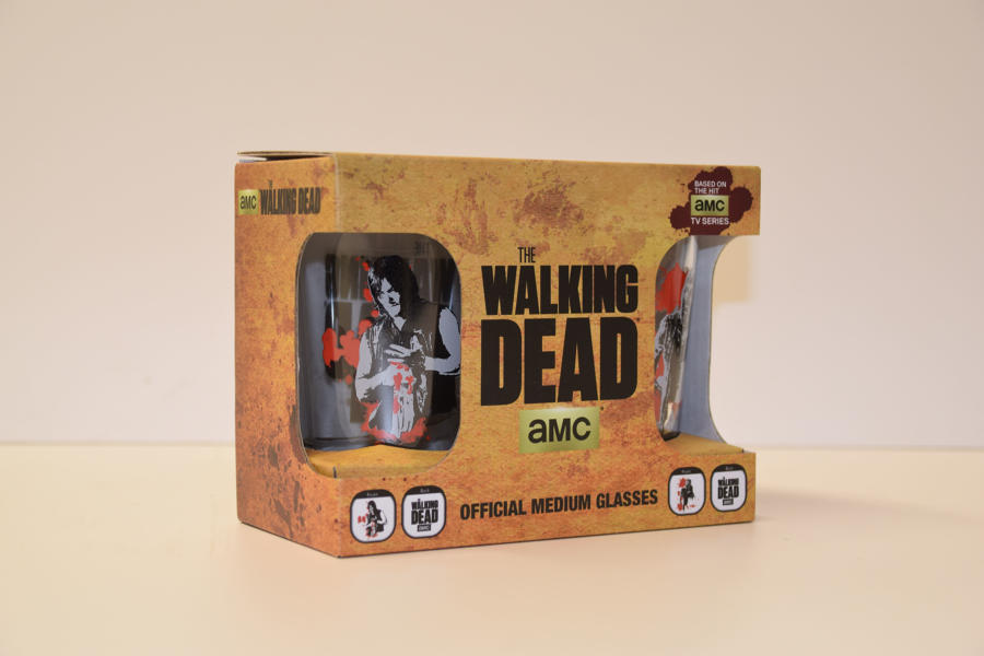 The Walking Dead - Official 2 pack Medium Glasses