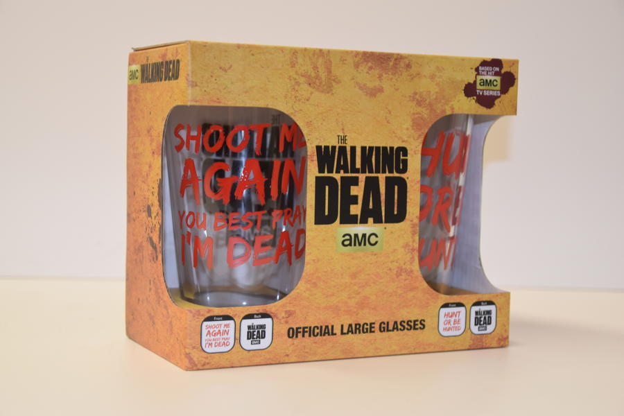 The Walking Dead - Official 2 pack Pint Glasses