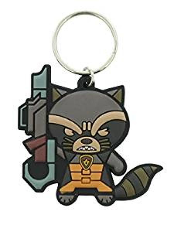 Guardians of The Galaxy - Rocket Racoon Keyring