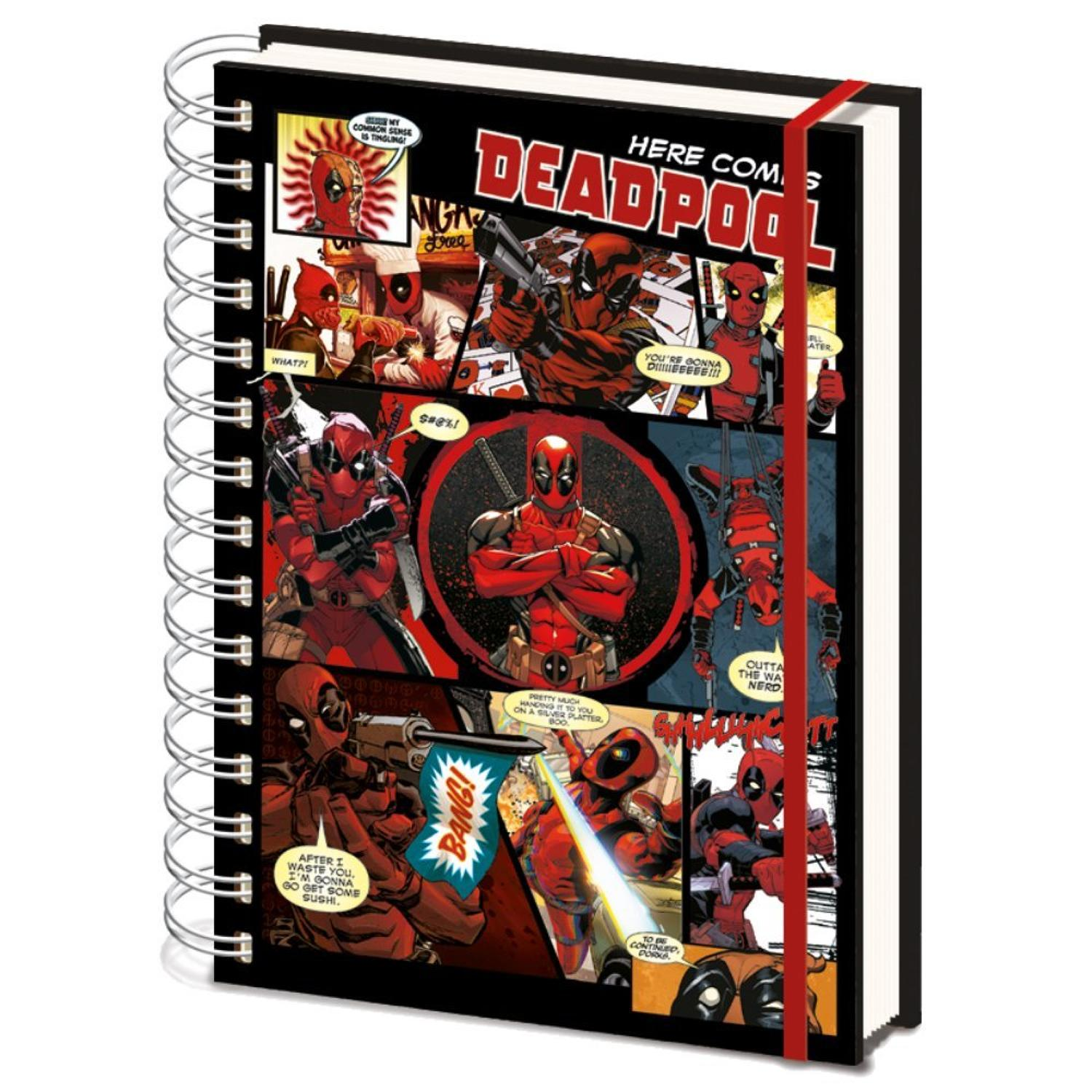 Deadpool - Official Wire A5 Notebook