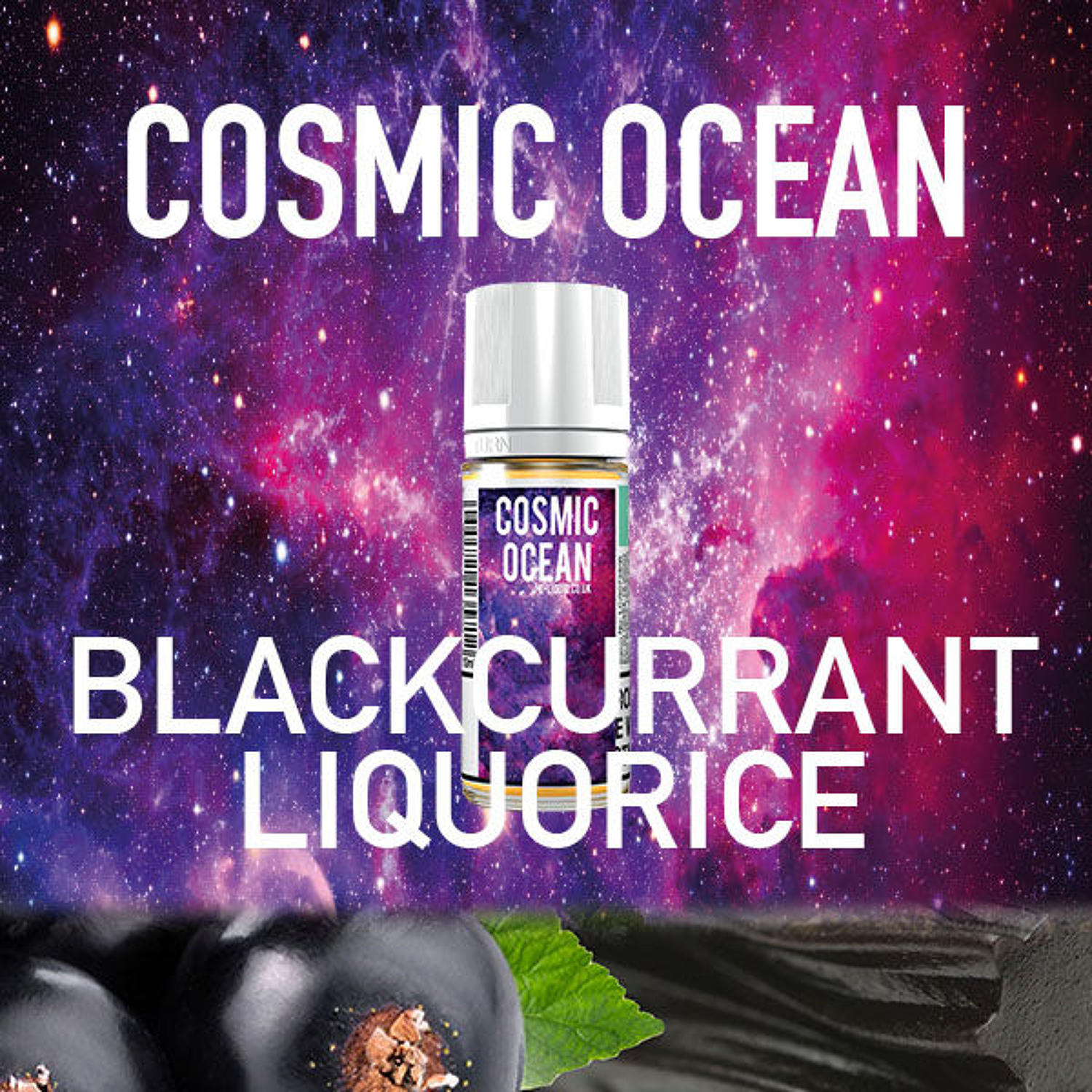 Cosmic Ocean - Blackcurrant Liqourice 10ml