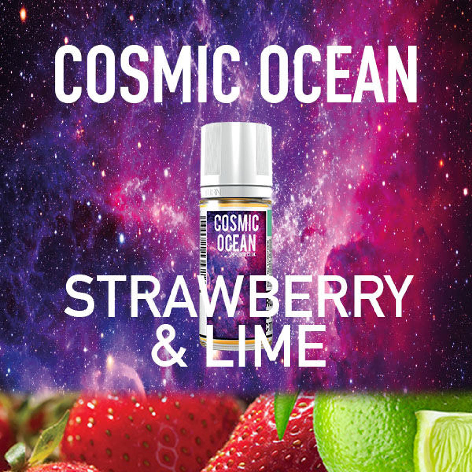 Cosmic Ocean - Stawberry and Lime 10ml