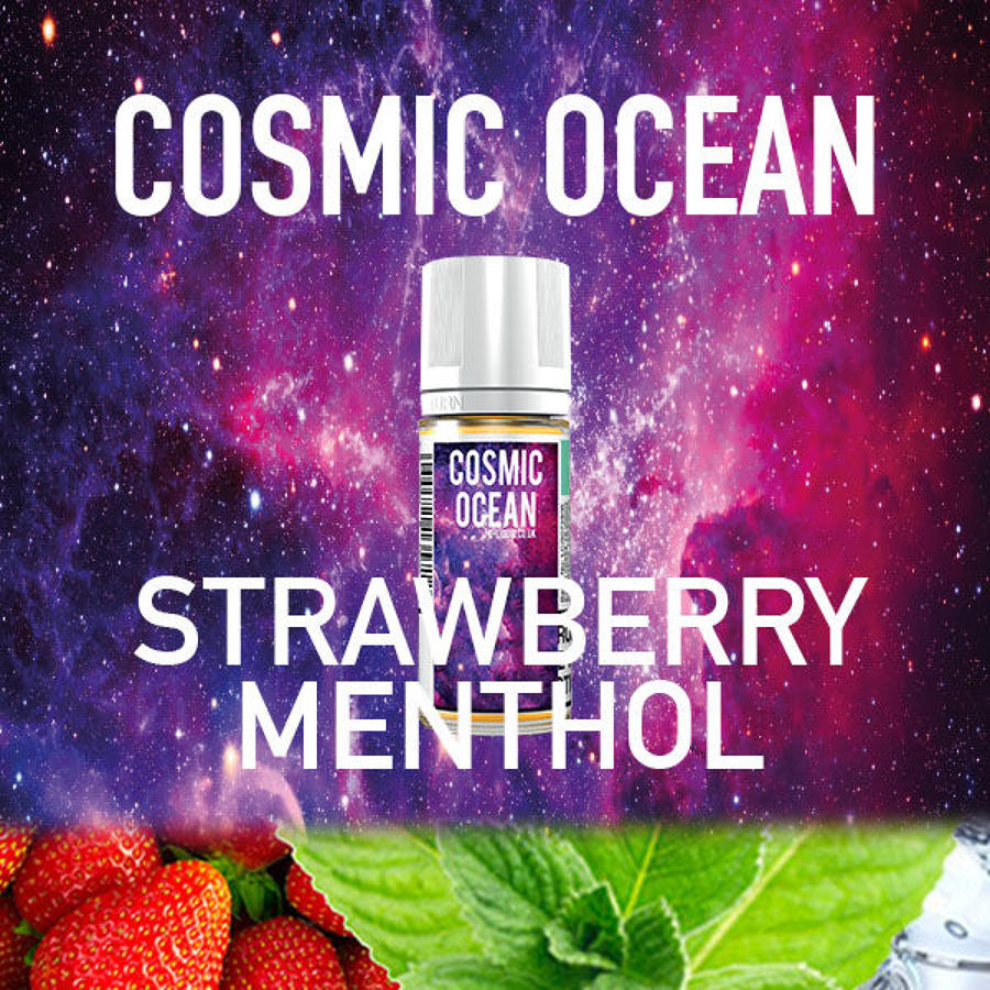 Cosmic Ocean - Strawberry Menthol 10ml