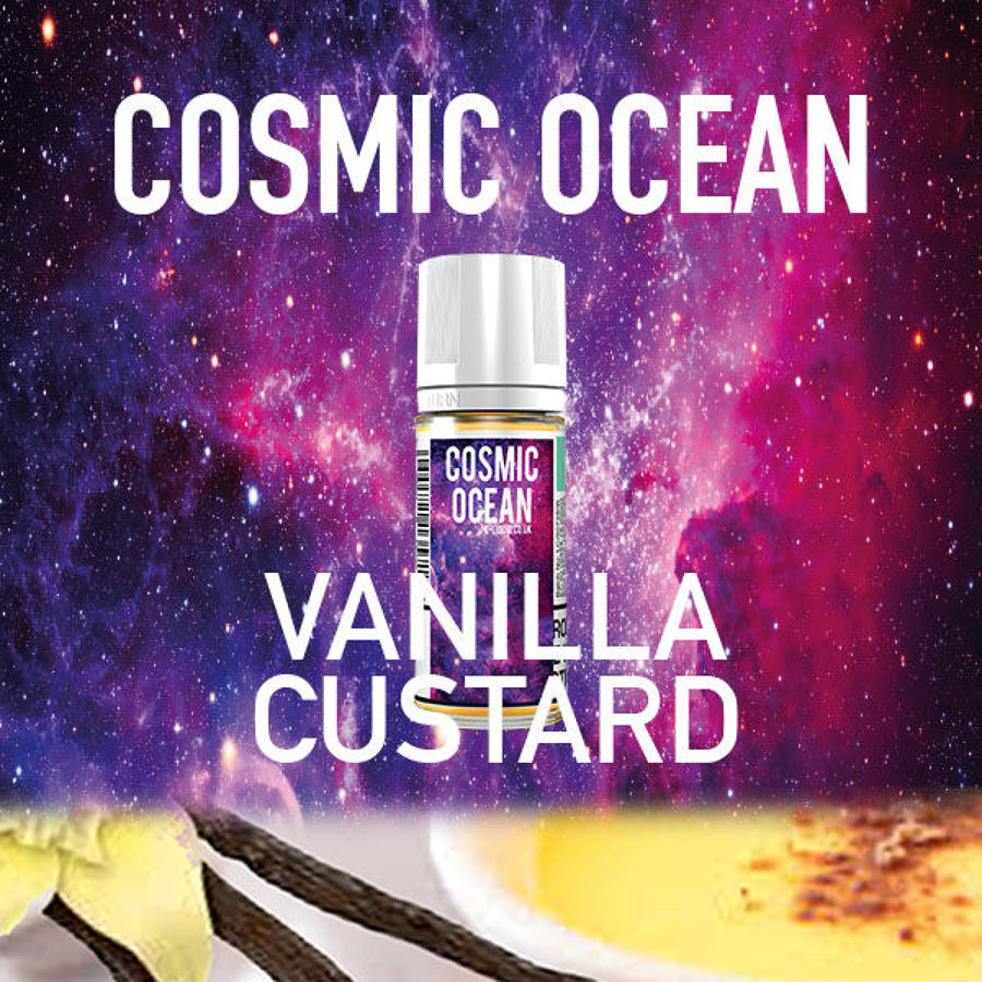 Cosmic Ocean - Vanilla Custard 10ml