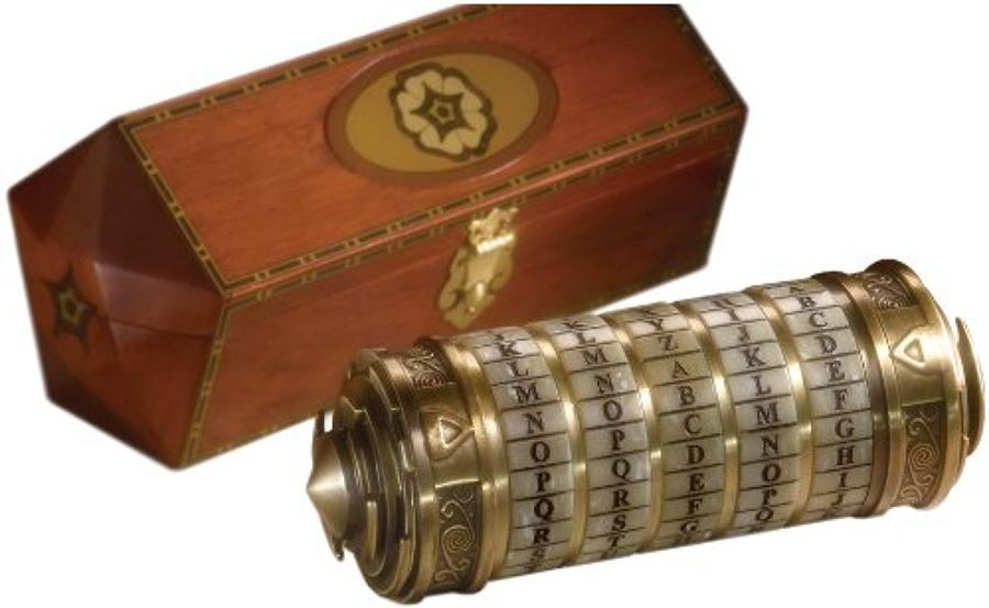 The Da Vinci Code - Cryptex 1:1 Scale Prop Replica