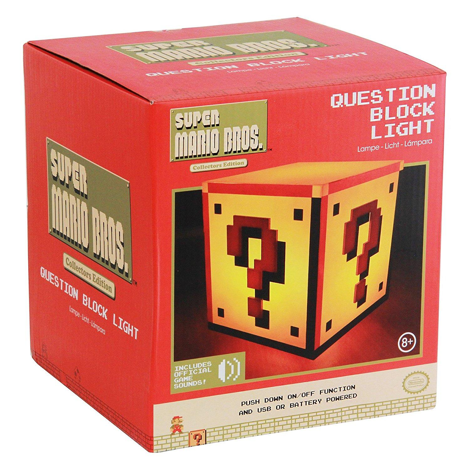 Super Mario - Question Box Light