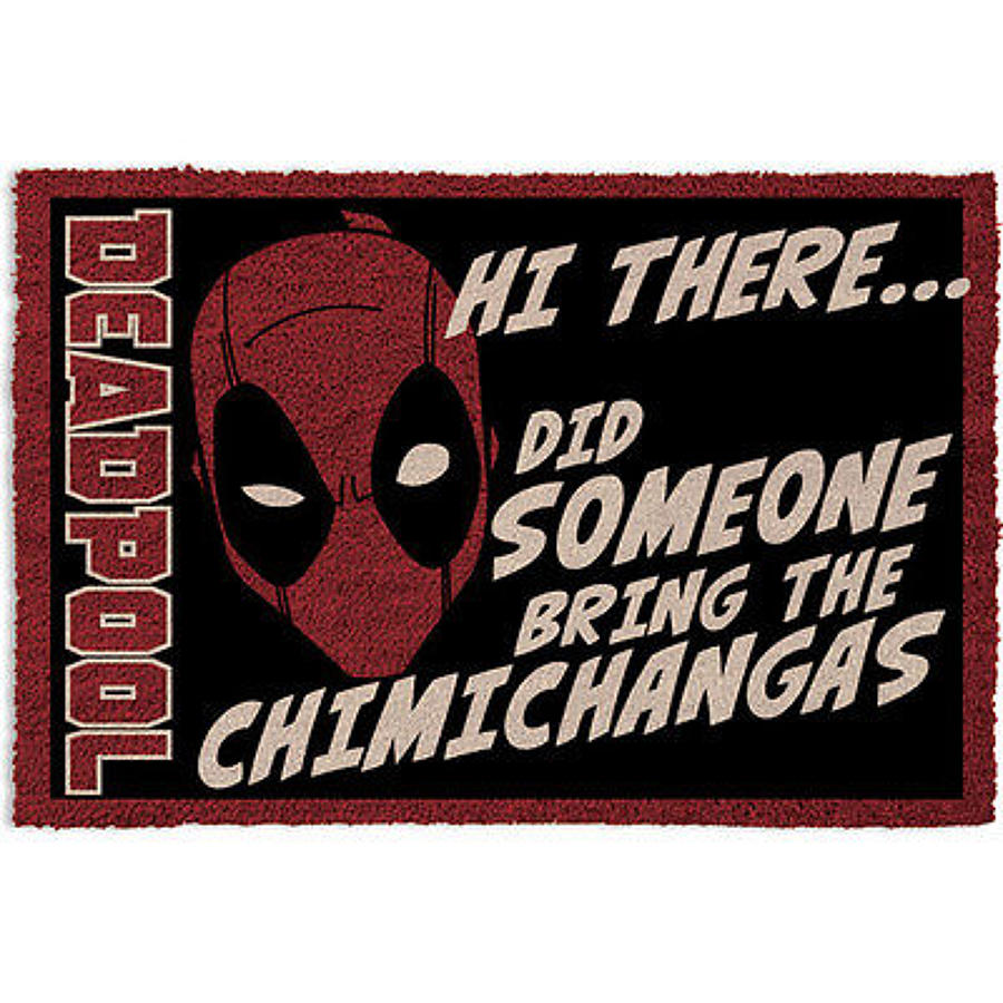 Deadpool Welcome Door Mat