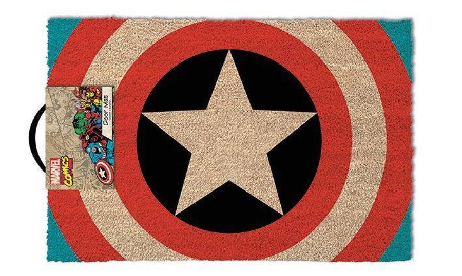 Captain America Welcome Door Mat