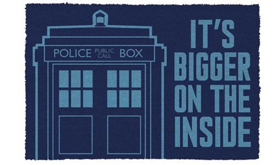 Tardis Welcome Mat