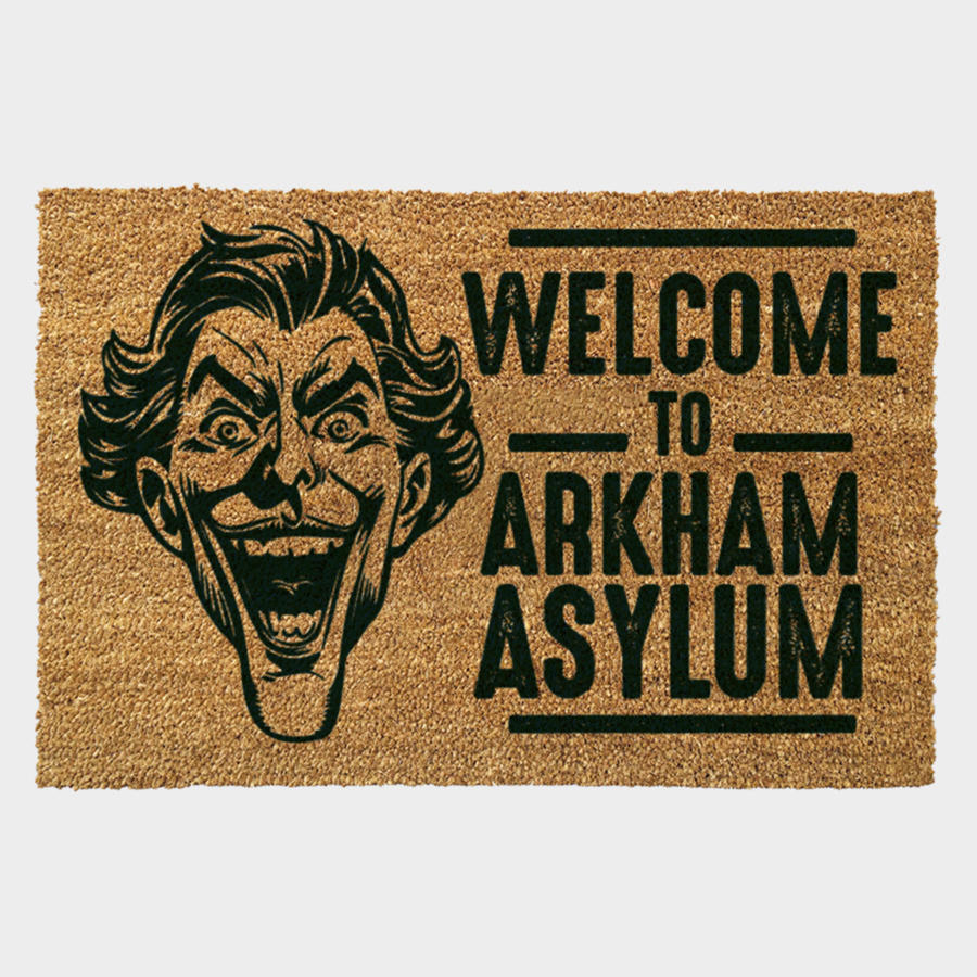 Arkham Asylum Welcome Door Mat
