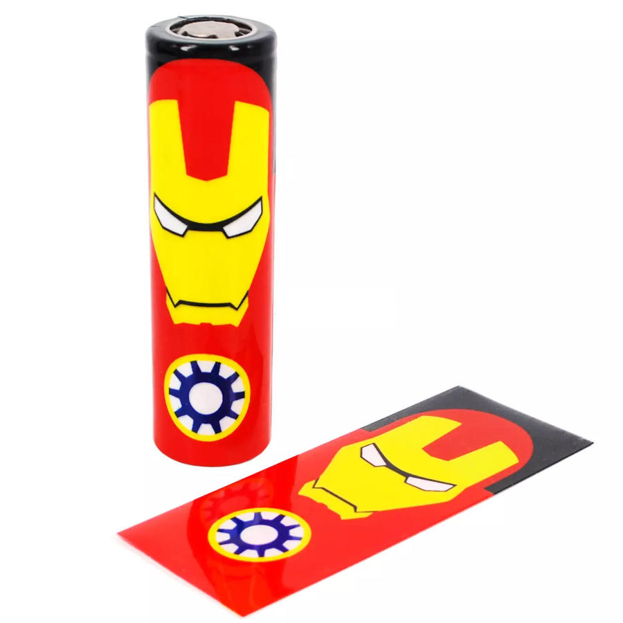 Iron Man Battery Cover