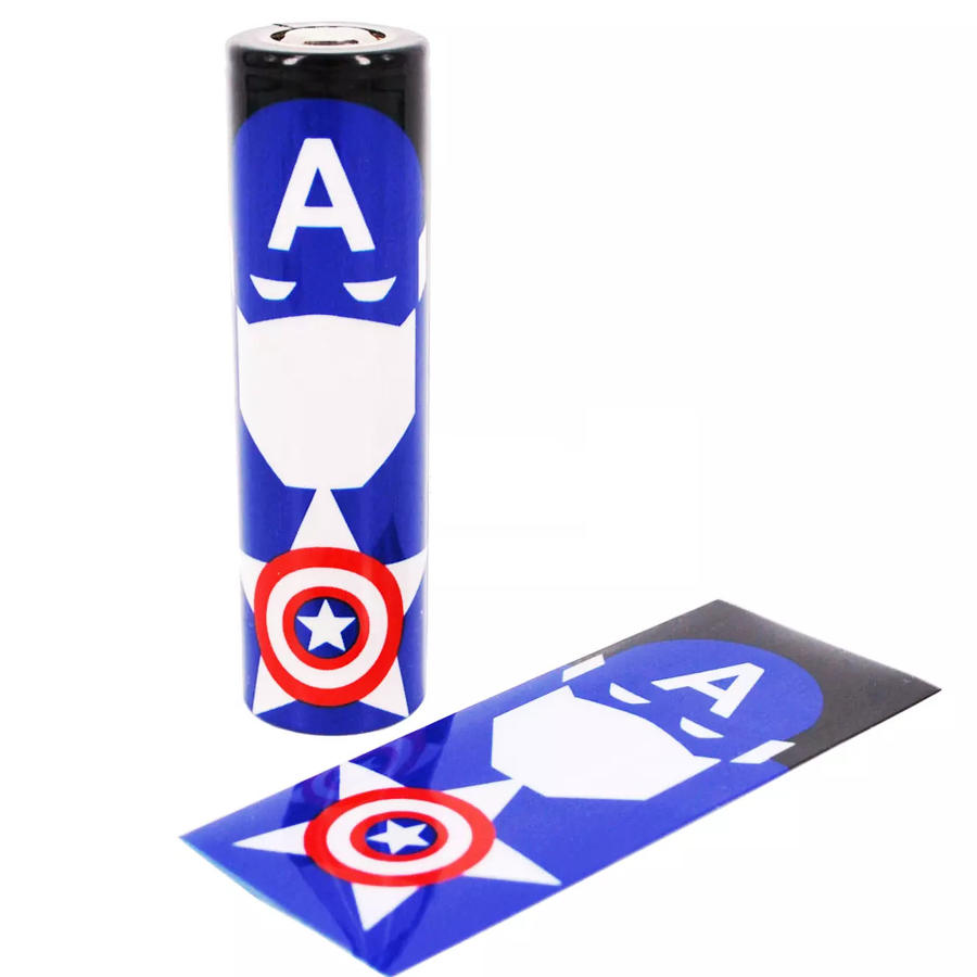 Captain America Battery Cover