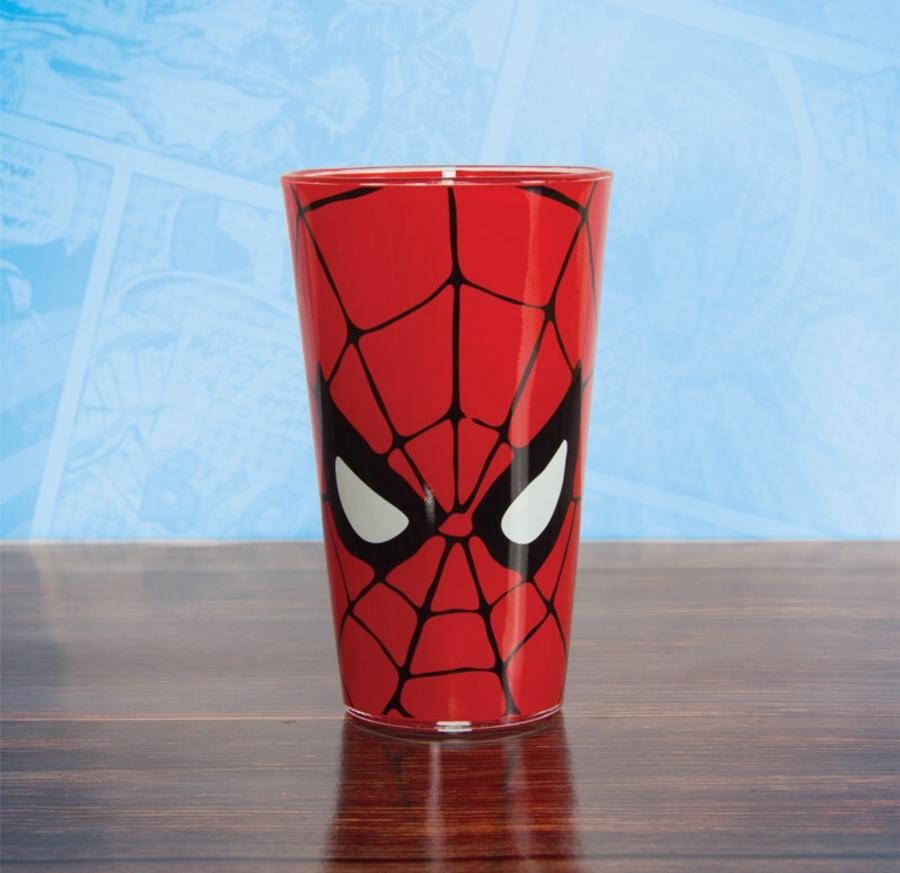 Marvel Comics - Spider-Man glass