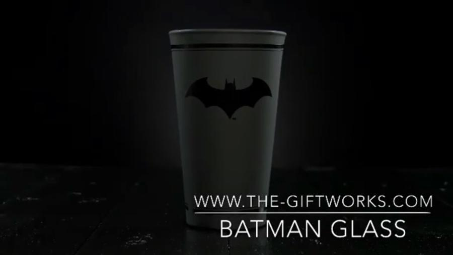 Batman Large Glass