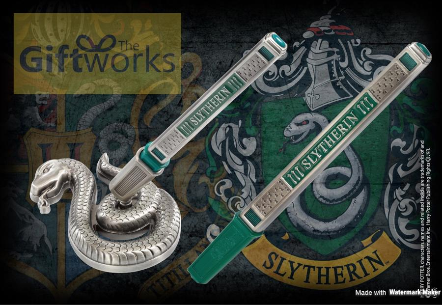 Harry Potter Slytherin Pen and Desk stand